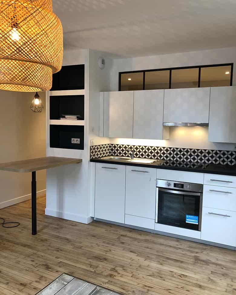 Rénovation d'appartement à Nantes