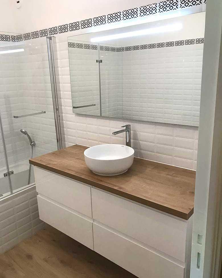Rénovation d'une salle de bains à Rezé