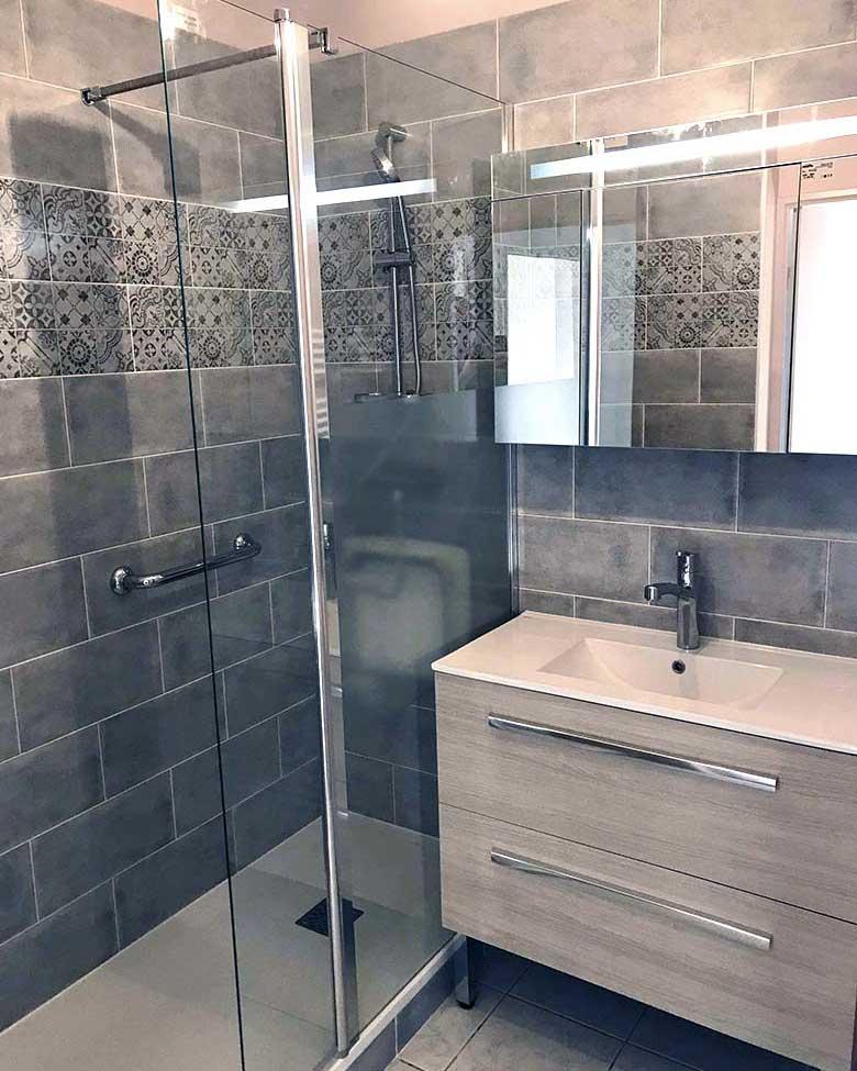 Rénovation d'une salle de bains à Nantes
